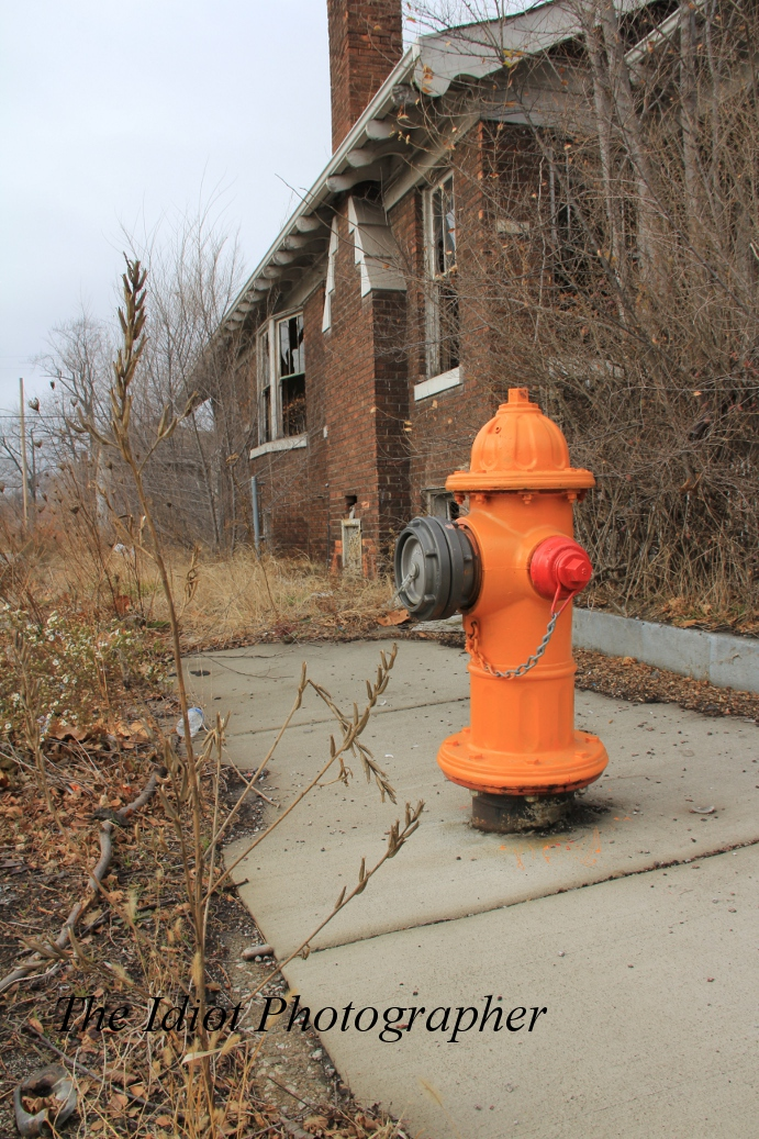 new hydrant old house