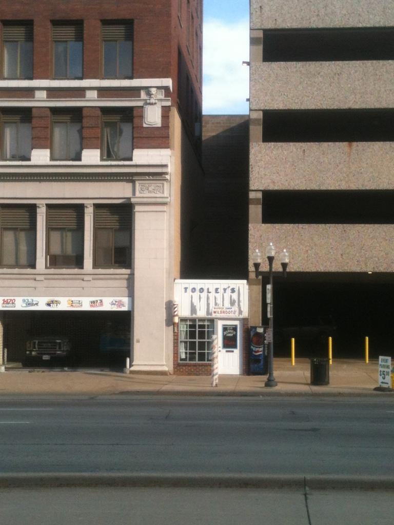 Tooley's Barber Shop, Peoria, IL