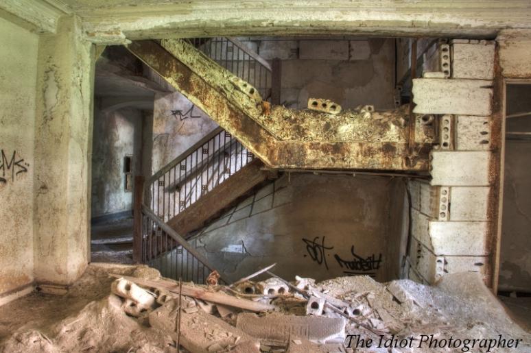 Ambassador Arms stairs