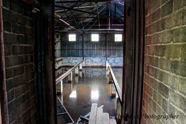 Screw and Bolt factory flooded room