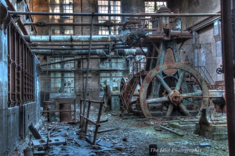 Armour power plant