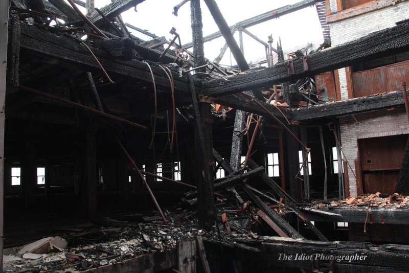 STL CM Building fire damage